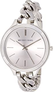 Michael Kors Women's Quartz Watch, Analog Display and Stainless Steel Strap MK3279