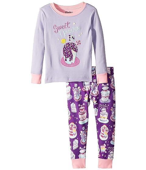 Sweet Dreams Organic Cotton Applique Pajama Set (Toddler/Little Kids/Big Kids)