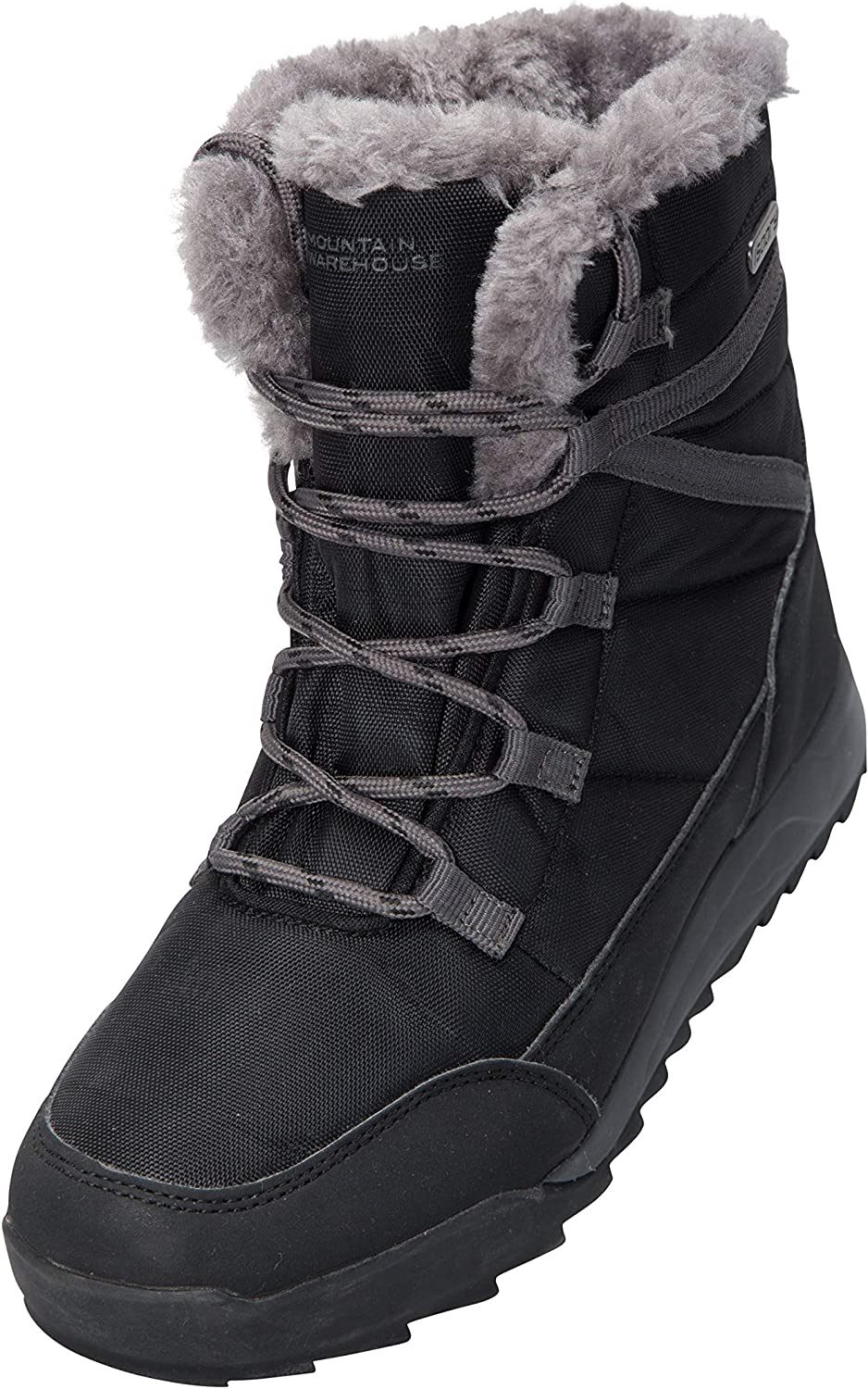 Mountain Warehouse Leisure Womens Snow Boots - Warm Winter Shoes