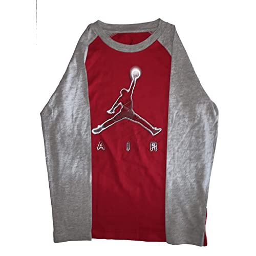 7981c09b65bd39 NIKE Big Boys Jordan Jumpman Dri-Fit Long-Sleeve T-Shirt