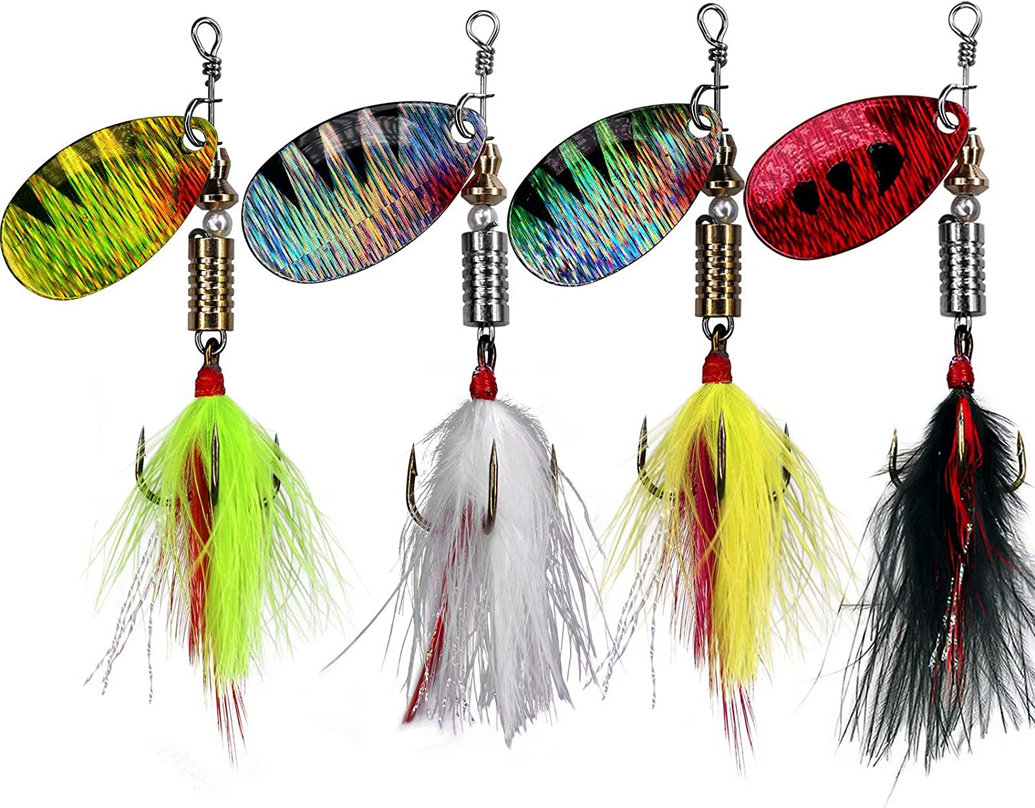 THKFISH Spinner Baits Fishing Spinners Spinnerbait Max 74% OFF Over item handling Lures F Trout