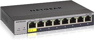 NETGEAR スイッチングハブ ギガビット8ポートスマート PoE受電対応 L2 VLAN QoS ACL IGMP Insight アプリ&クラウド GS108T