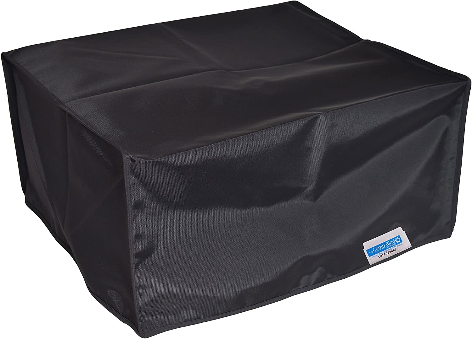 Comp Bind Technology Dust Cover for HP Laserjet 1320 Printer, Black Nylon Dust Cover, Dimensions 14''W x 14''D x 10''H
