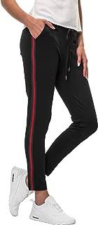 Hachiro Damen Hose Freizeithose 7/8-Hose Sportswear Style