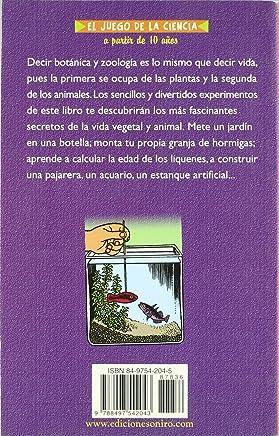 Experimentos Sencillos De Botanica Y Zoologia / Easy Experiments of Botany And Zoology (El Juego