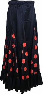 La Senorita Flamenco Rock Kinder Spanische Kleider schwarz mit roten Punkten