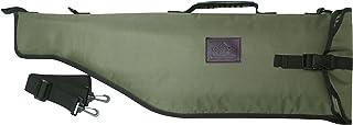 comprar comparacion Tourbon Caza Escopeta Gun Rifle Bolsa de almacenamiento con correa de hombro ajustable - Verde con Brown Trim (Breakdown S...
