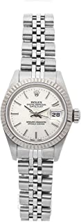 Rolex Datejust Mechanical (Automatic) Silver Dial Womens Watch 69174 (Certified Pre-Owned)