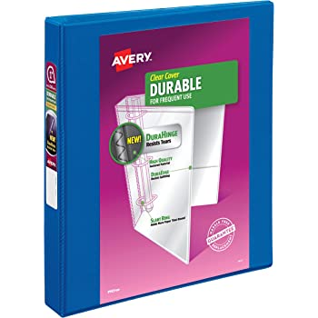 Avery Dennison 7771117576 Durable View Binder With Durahinge And Slant Rings 1