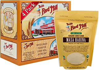 Bob's Red Mill Organic Masa Harina Flour, 24 Ounces (Pack of 4)