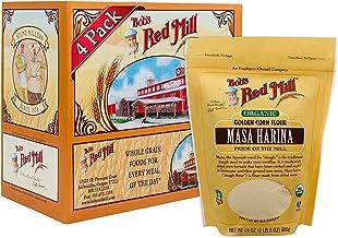 Bob's Red Mill Organic Masa Harina Flour, 24 Ounces (Pack of 4)