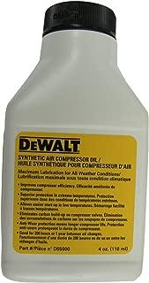 DEWALT D55000 Compressor Oil --Synthetic 4 oz