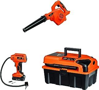 Armor All, CKA203A, 20V Cordless 3-Tool Kit 20V Wet/Dry Utility Shop Vacuum