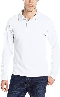 IZOD Uniform Young Men's Long Sleeve Pique Polo