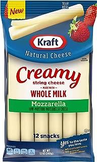 Kraft Whole Milk Mozzarella String Cheese (12 Count)