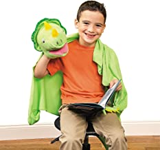Fun Express - Dinosaur Plush Puppet Friend - Toys - Plush - Puppets - 1 Piece