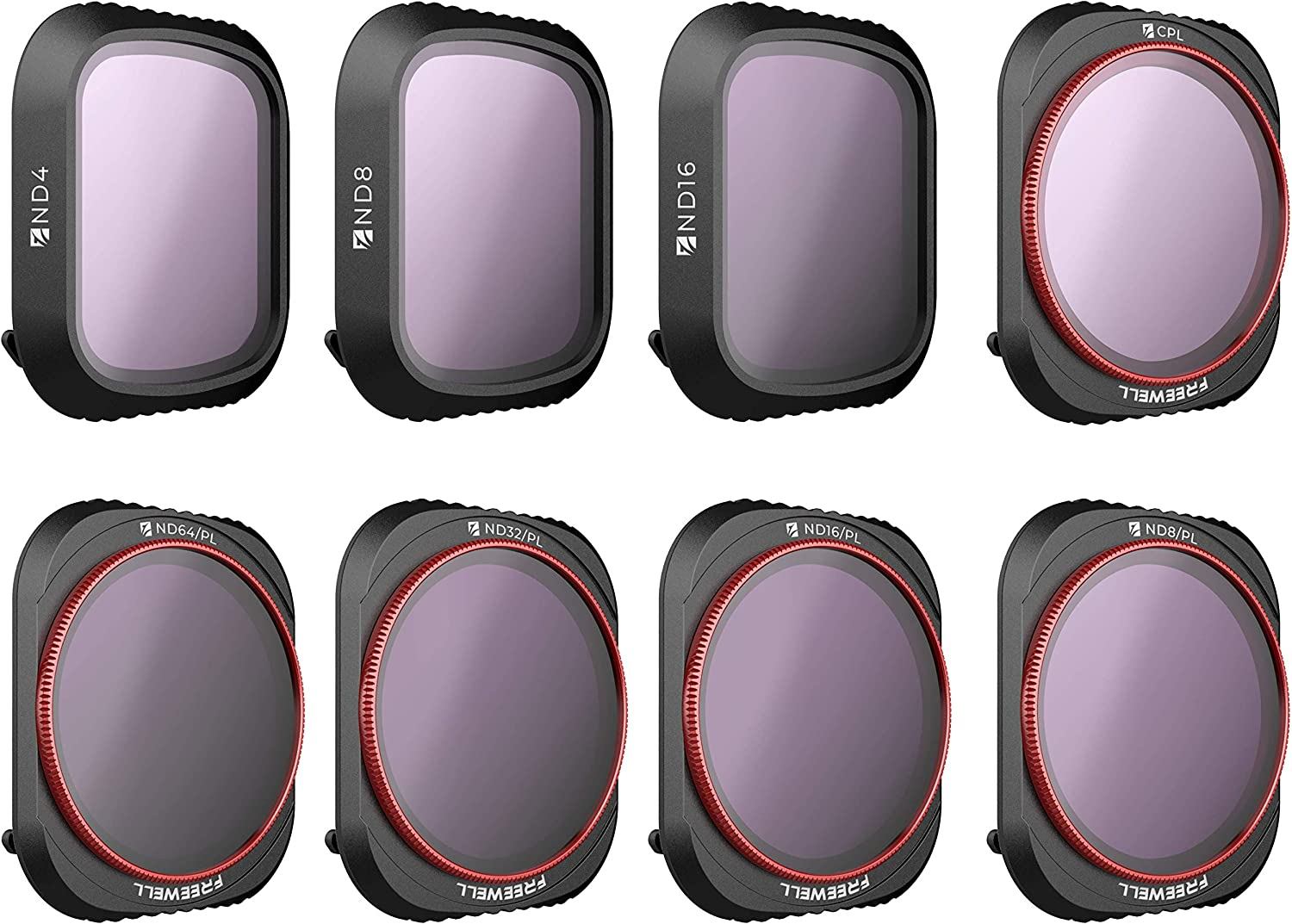 Freewell All Day 5 ☆ popular – 4K Series ND8 C Special price for a limited time 8Pack ND4 ND16