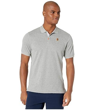 Nike The Nike Polo Heritage Stndrd (Dark Grey Heather/Wolf Grey) Men