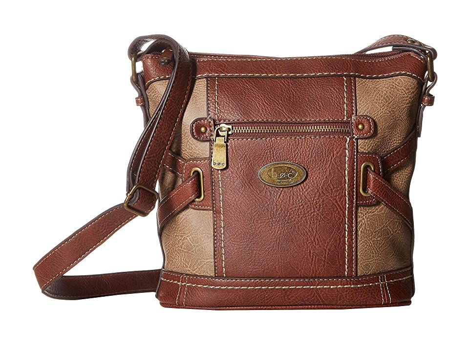 b.o.c. Parkslope Crossbody (Saddle) Cross Body Handbags, Brown