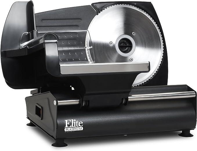Elite Platinum EMT-503B Ultimate Electric Deli Food Meat Slicer – Best Manual Meat Slicer