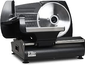 Elite Platinum EMT-503B Ultimate Precision Electric Deli Food Meat Slicer, Removable..
