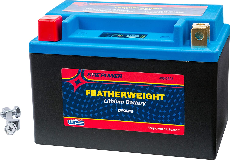 WPS Finally resale start Western Power Sports Battery Fresno Mall Lithium Featherweight