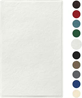 Best white leather patch Reviews