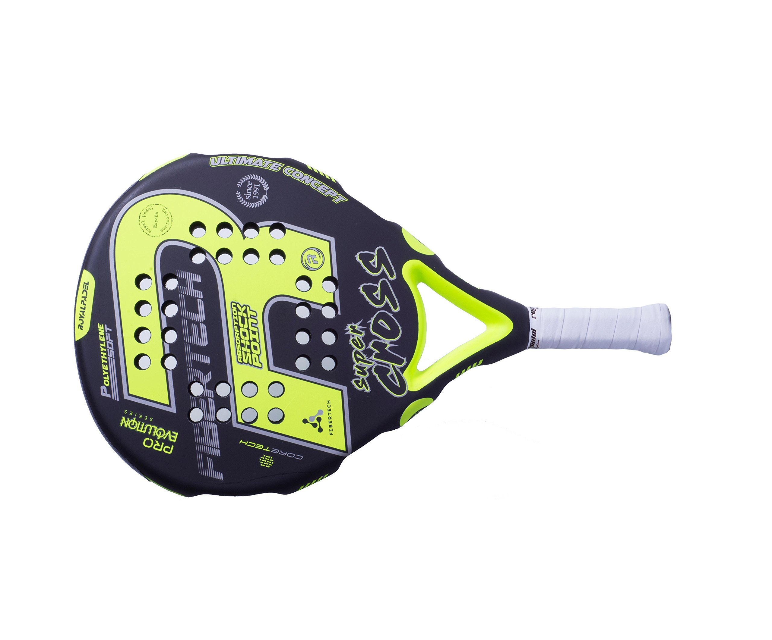 Royal Padel 775 Supercross 2018 Palas, Unisex Adulto, Negro/Verde, Talla Única: Amazon.es: Deportes y aire libre