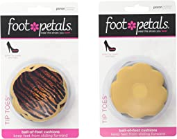 Foot Petals - Tip Toes 6-Pair Pack Combo