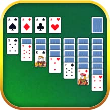 Solitaire. Classic Klondike Patience Card Game
