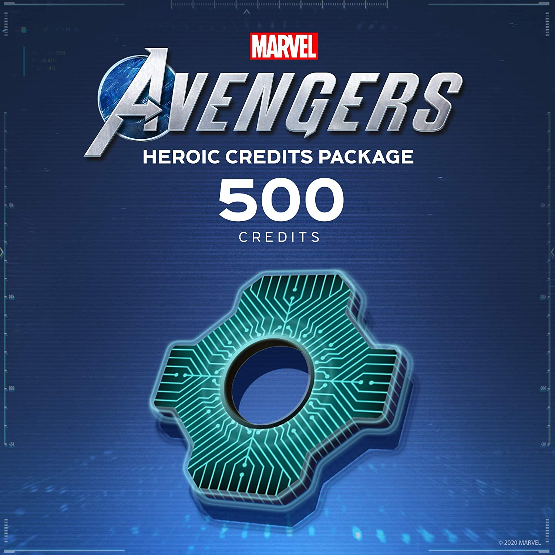 Marvel's Avengers Heroic Credits Pack - PS4 [Digital Code]