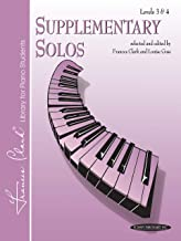 Supplementary Solos: Levels 3 & 4 (Frances Clark Library Supplement)
