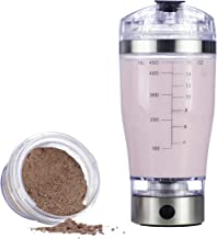 Vortex Select Portable Electric Mixer Shaker Blender Bottle for Protein Powders, Shakes, Eggs, Pre-Workout Shakes, Post-Workout Shakes, and More with Ingredients Cup and USB (16 oz.)