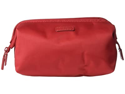 Lipault Paris Plume Accessories Medium Toiletry Kit (Cherry Red) Wallet