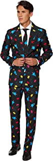 Everyday Suits for Men in Different Prints - Comes with Jacket, Pants and Tie with Fun Prints