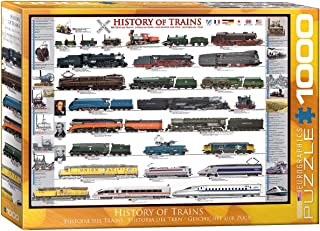 EuroGraphics History of Trains 1000 Piece Puzzle, 6000-0251