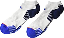 adidas - Superlite Speed Mesh 2-Pack No Show Socks