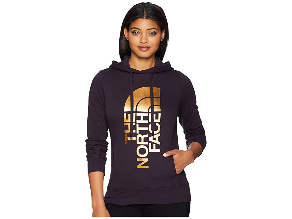 The North Face Trivert Pullover Hoodie (Galaxy Purple/Gold Foil) Women