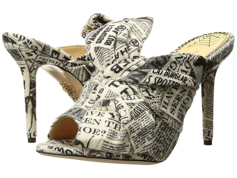 Charlotte Olympia Ilona (Gazette Print Printed Wool) High Heels