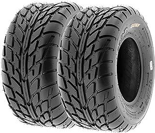 SunF 18x9.5-8 18x9.5x8 ATV UTV Sport Race Replacement 6 PR Tubeless Tires A021, [Set of 2]