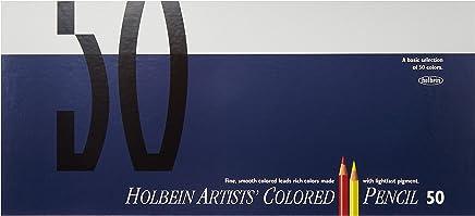 ホルベイン 色鉛筆 50色 セット 紙函