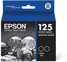 Epson T125120-D2 DURABrite Ultra Black Dual Pack Standard Capacity Cartridge Ink