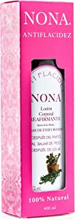 NONA Loción Anti-Flacidez Corporal. Reafirmante Natural. Elimina Flacidez del Cuerpo (Estándar, 400ml.)