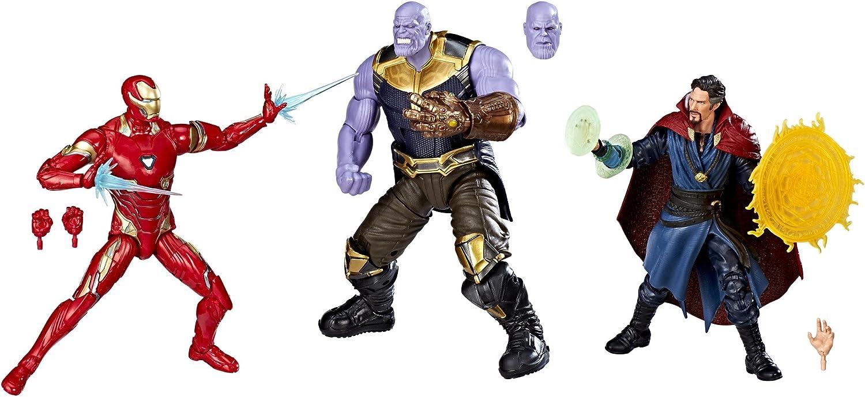 venta Hasbro Marvel Studios  The First Ten Years Avengers Avengers Avengers  Infinity War Figura 3-Pack  comprar nuevo barato