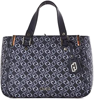 Luxury Fashion | Liu Jo Womens N69013E001722222 Blue Handbag | Fall Winter 19