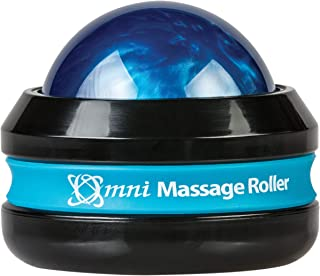 Core Products Omni Massage Roller Black Cap - Blue