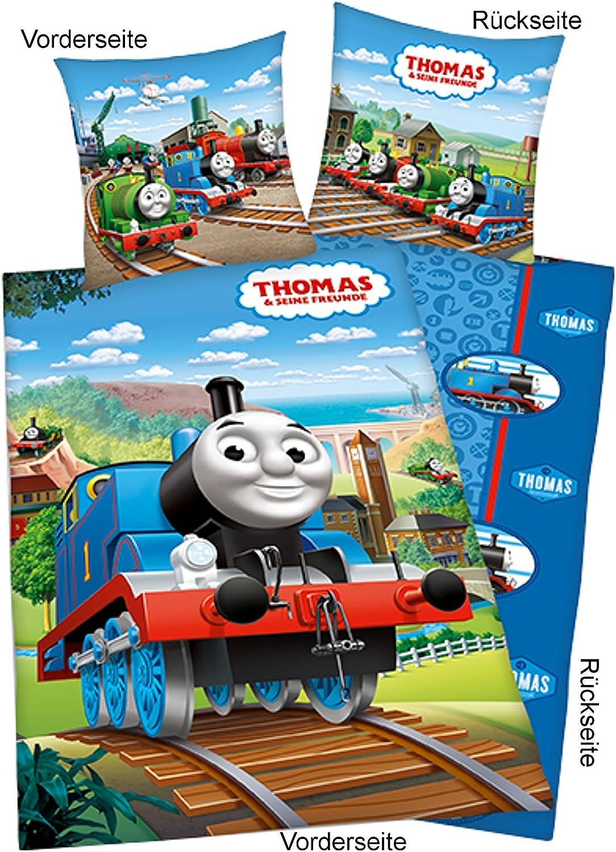 Thomas Thomas Thomas & Seine Freunde Bettwäsche Thomas B00UC49ECY 056963