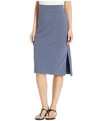 Toad&Co Samba Paseo Midi Skirt (Blue Shadow) Women