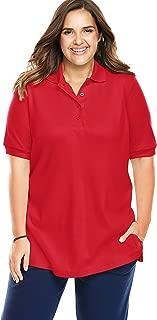 ladies longer length polo shirts