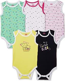 Amazon Brand - Jam & Honey Baby Girls Romper Suit